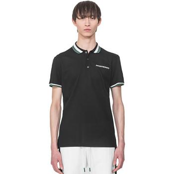Oblačila Moški Polo majice kratki rokavi Antony Morato MMKS01713 FA100083 Črna