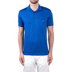 Oblačila Moški Polo majice kratki rokavi Navigare NV72062 Modra