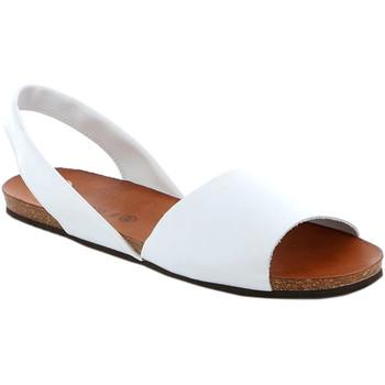 Čevlji  Ženske Sandali & Odprti čevlji Grunland SB1623 Biely