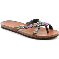 Čevlji  Ženske Japonke Grunland CB2502 Rjav