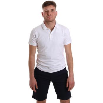Oblačila Moški Polo majice kratki rokavi Sseinse ME1517SS Biely