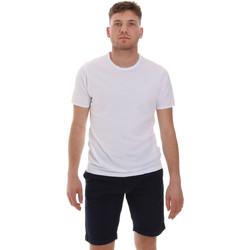 Oblačila Moški Majice s kratkimi rokavi Sseinse ME1566SS Biely