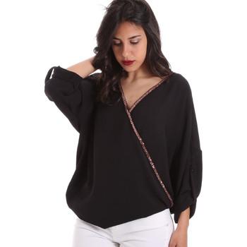 Oblačila Ženske Topi & Bluze Gaudi 011BD45026 Črna