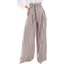 Oblačila Ženske Lahkotne hlače & Harem hlače Gaudi 011FD25034 Bež