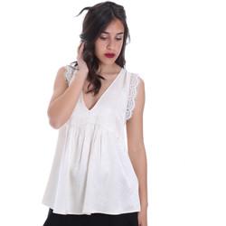 Oblačila Ženske Topi & Bluze Gaudi 011FD45026 Bež