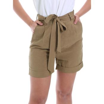 Oblačila Ženske Kratke hlače & Bermuda Gaudi 011BD25046 Rjav
