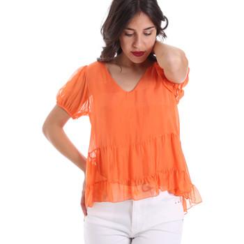 Oblačila Ženske Topi & Bluze Gaudi 011BD45034 Oranžna