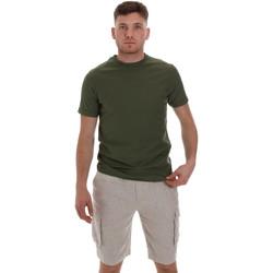 Oblačila Moški Majice s kratkimi rokavi Sseinse ME1548SS Zelena
