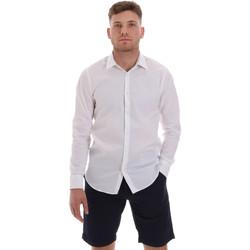 Oblačila Moški Srajce z dolgimi rokavi Sseinse CE506SS Biely