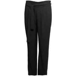 Oblačila Ženske Lahkotne hlače & Harem hlače Smash S1829415 Črna