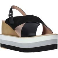 Čevlji  Ženske Sandali & Odprti čevlji Onyx S20-SOX758 Črna
