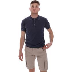 Oblačila Moški Polo majice kratki rokavi Sseinse ME1513SS Modra