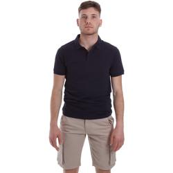Oblačila Moški Polo majice kratki rokavi Sseinse ME1517SS Modra