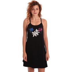 Oblačila Ženske Kratke obleke Key Up 5G30L 0001 Črna