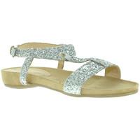Čevlji  Ženske Sandali & Odprti čevlji Mally 4681 Srebro