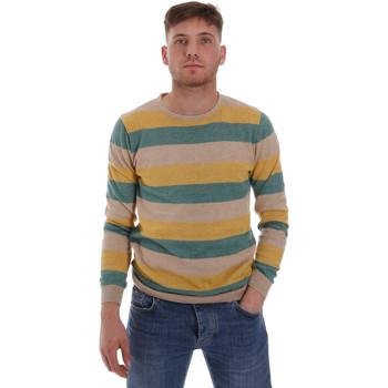 Oblačila Moški Puloverji Sseinse ME1572SS Bež