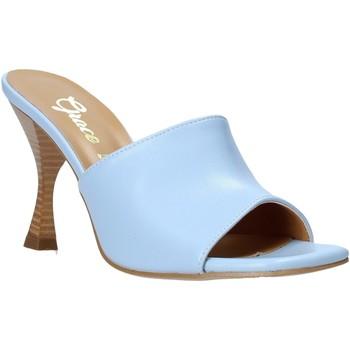 Čevlji  Ženske Natikači Grace Shoes 6293Y014 Modra