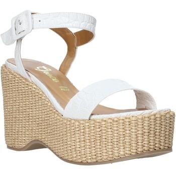 Čevlji  Ženske Sandali & Odprti čevlji Grace Shoes 104002 Biely