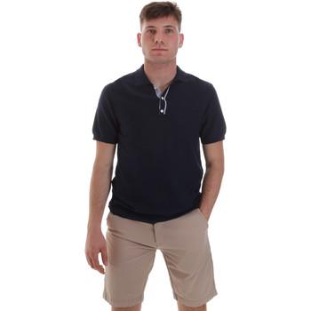 Oblačila Moški Polo majice kratki rokavi Sseinse ME1528SS Modra