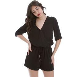 Oblačila Ženske Kombinezoni Gaudi 011BD25029 Črna