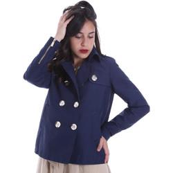Oblačila Ženske Jakne & Blazerji Gaudi 011BD35013 Modra