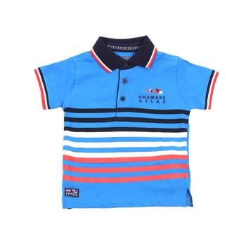 Oblačila Otroci Polo majice kratki rokavi Losan 015-1037AL Modra