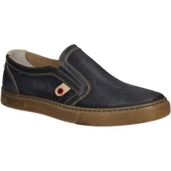 Čevlji  Moški Slips on Café Noir QT121 Modra