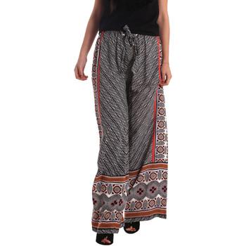 Oblačila Ženske Lahkotne hlače & Harem hlače Gaudi 73FD25200 Črna
