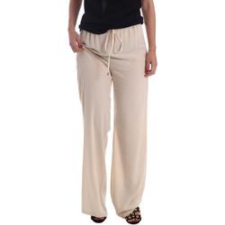 Oblačila Ženske Lahkotne hlače & Harem hlače Gaudi 73FD25232 Bež