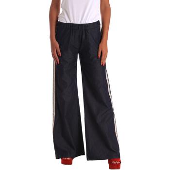 Oblačila Ženske Kavbojke bootcut Denny Rose 73DR22004 Modra