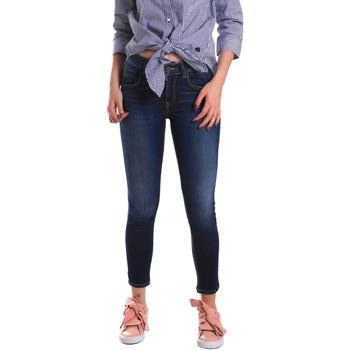 Oblačila Ženske Jeans skinny Fornarina BE171L48D867VR Modra