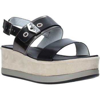 Čevlji  Ženske Sandali & Odprti čevlji NeroGiardini E012470D Črna