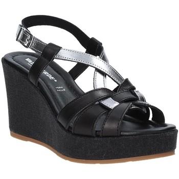 Čevlji  Ženske Sandali & Odprti čevlji Valleverde 32404 Črna