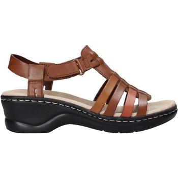 Čevlji  Ženske Sandali & Odprti čevlji Clarks 26139780 Rjav