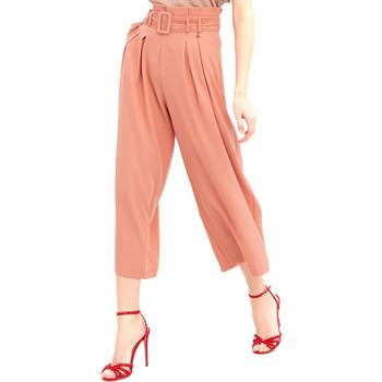 Oblačila Ženske Lahkotne hlače & Harem hlače Fracomina FR20SM644 Roza
