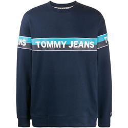 Oblačila Moški Puloverji Tommy Jeans DM0DM07894 Modra