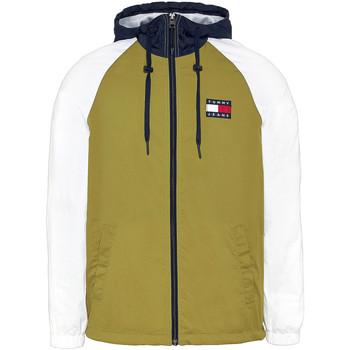 Oblačila Moški Puloverji Tommy Jeans DM0DM08096 Zelena