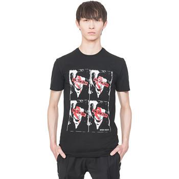 Oblačila Moški Majice s kratkimi rokavi Antony Morato MMKS01743 FA120001 Črna