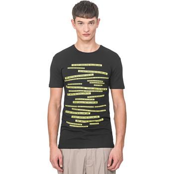 Oblačila Moški Majice s kratkimi rokavi Antony Morato MMKS01749 FA120001 Črna