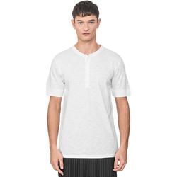Oblačila Moški Majice s kratkimi rokavi Antony Morato MMKS01725 FA100139 Biely