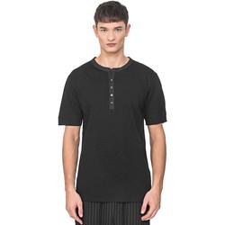 Oblačila Moški Majice s kratkimi rokavi Antony Morato MMKS01725 FA100139 Črna