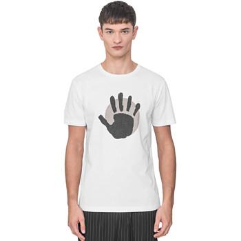 Oblačila Moški Majice s kratkimi rokavi Antony Morato MMKS01765 FA100144 Biely