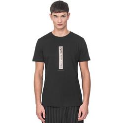 Oblačila Moški Majice s kratkimi rokavi Antony Morato MMKS01766 FA100144 Črna
