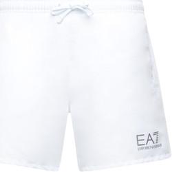 Oblačila Moški Kopalke / Kopalne hlače Ea7 Emporio Armani 902000 CC721 Biely