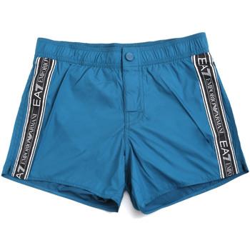 Oblačila Moški Kopalke / Kopalne hlače Ea7 Emporio Armani 902039 0P734 Modra