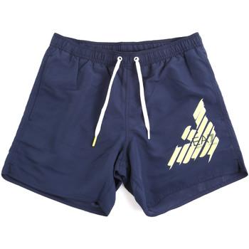 Oblačila Moški Kopalke / Kopalne hlače Ea7 Emporio Armani 902000 0P724 Modra