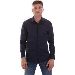 Oblačila Moški Srajce z dolgimi rokavi Sseinse CE506SS Modra