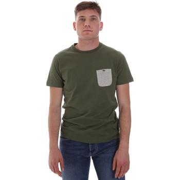 Oblačila Moški Majice s kratkimi rokavi Sseinse ME1588SS Zelena