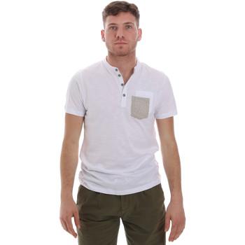 Oblačila Moški Majice s kratkimi rokavi Sseinse ME1600SS Biely