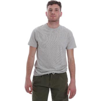 Oblačila Moški Majice s kratkimi rokavi Sseinse ME1603SS Biely